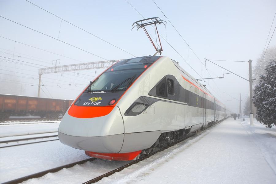 Швидкісний двосистемний електропоїзд  ЕКр-1