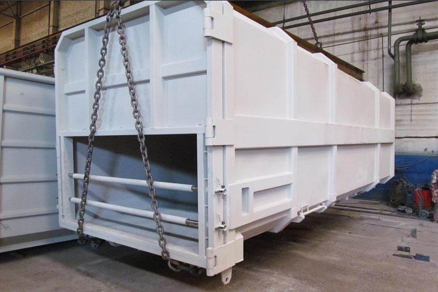 Модель – P-25N / Грузоподъемность - 12 025 кг / Объём 25 м³