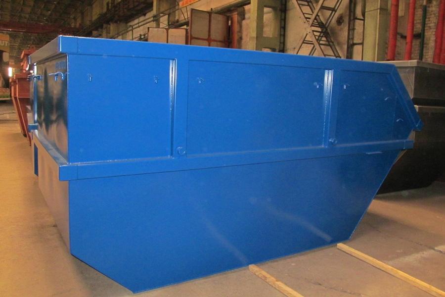 Модель – КH10H  / Грузоподъемность - 10 000 кг / Объём 10 м³