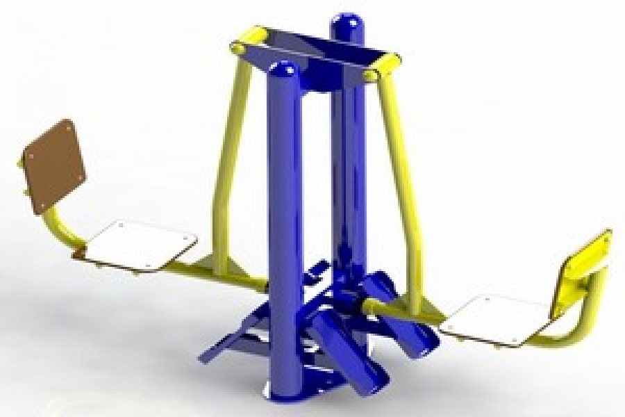 Тренажери для обладнання відкритих спортивних майданчиків